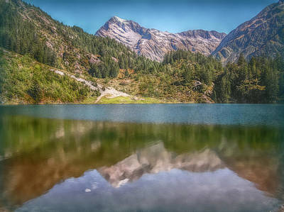 Photograph - Swiss Tarn by Hanny Heim