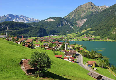 Photograph - Swiss Village by Rusm