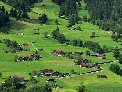 Switzerland, Bern Canton, Grindelwald Art Print