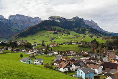 Photograph - Switzerland by Brian Grzelewski