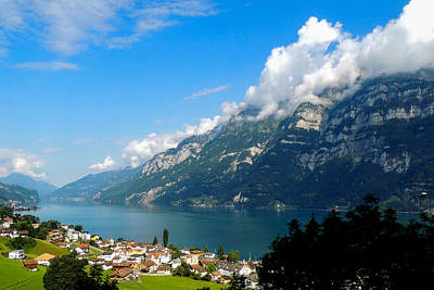 Photograph - Switzerland Landscape by Marilyn Burton
