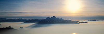 Switzerland, Luzern, Pilatus Mountain Art Print