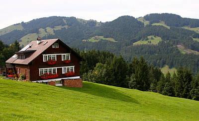 Photograph - Switzerland by Michael Cervin
