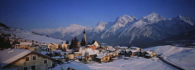 Graubunden Photograph - Switzerland by Panoramic Images
