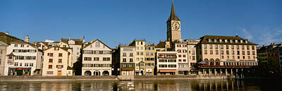 Limmat Photograph - Switzerland, Zurich, Buildings by Panoramic Images