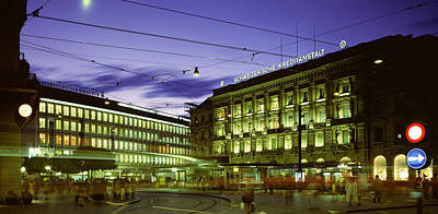 Architectural Feature Photograph - Switzerland, Zurich by Panoramic Images