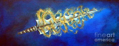 Painting - Sword Of The Word by Deborah Smith