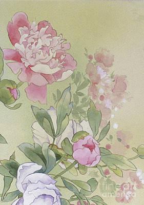 Mauve Digital Art - Syakuyaku Crop II by Haruyo Morita
