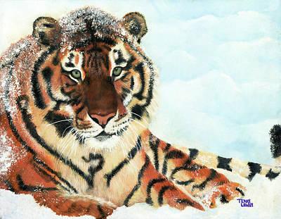 Syberian Tiger Art Print