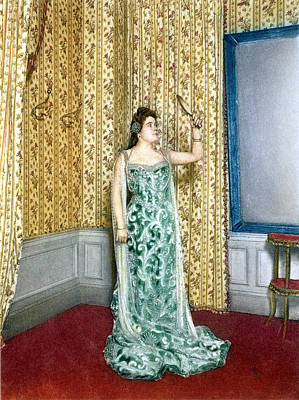 Operatic Painting - Sybil Sanderson (1864-1903) by Granger