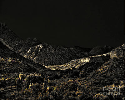 Sycamore Canyon I Art Print by Arne Hansen
