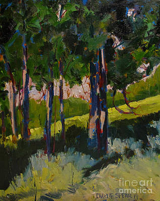 Sycamore Painting - Sycamore Shade by Charlie Spear