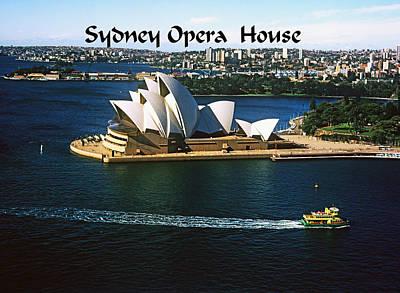 Photograph - Sydney Australia by Gary Wonning