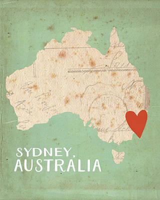 Sydney Painting - Sydney, Australia by Katie Doucette