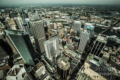Photograph - Sydney Birdseye View by Gabor Pozsgai