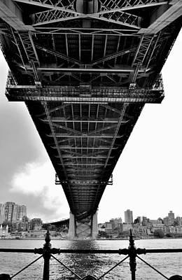 Sydney Bridge 2 - Sydney - Australia Art Print
