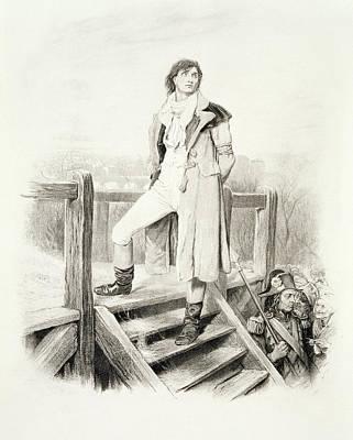 Sydney Carton, From Charles Dickens A Art Print