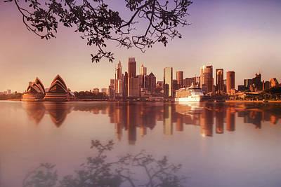 Sydney City Art Print by Saenman Photography