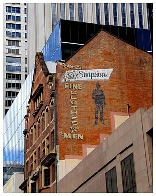 Photograph - Sydney Cityscape Contrast by Frank Wickham