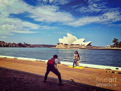 Photograph - Sydney by Colin and Linda McKie