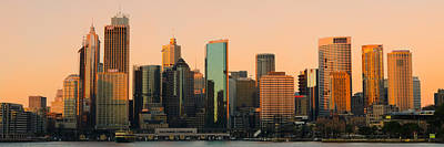 Sydney Skyline Photograph - Sydney Downtown Skyline by Andre Distel