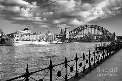 Photograph - Sydney Harbour by Kate McKenna