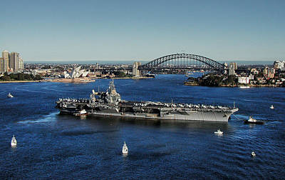 Sydney Harbor Art Print by John Swartz