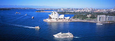 Yacht Photograph - Sydney Harbor, Sydney, Australia by Panoramic Images