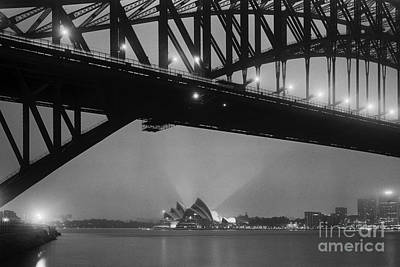 Photograph - Sydney Harbour Before Dawn by Colin and Linda McKie