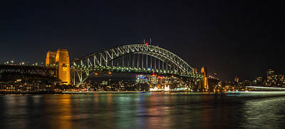 Sydney Harbour Bridge 2 Art Print by Dasmin Niriella