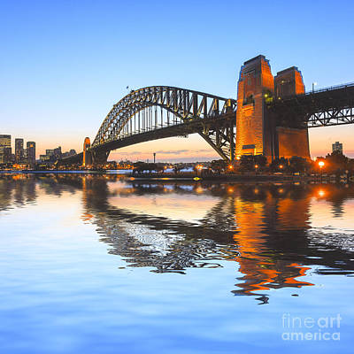Sydney Vacation Photograph - Sydney Harbour Bridge by Colin and Linda McKie
