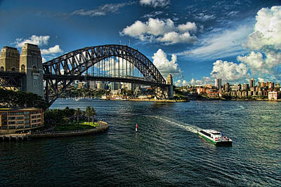 Photograph - Sydney Harbour Bridge by David Smith