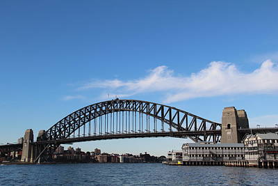 Photograph - Sydney Harbour Bridge by Debbie Cundy
