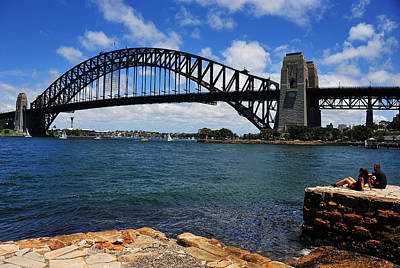 Photograph - Sydney Harbour Bridge by Harry Spitz
