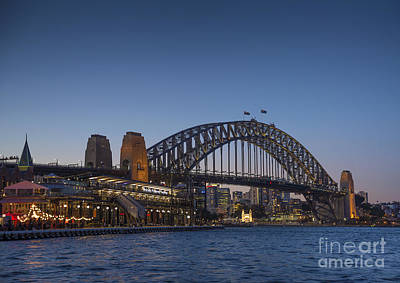 Mountain Landscape Royalty Free Images - Sydney Harbour Bridge In Australia Royalty-Free Image by JM Travel Photography