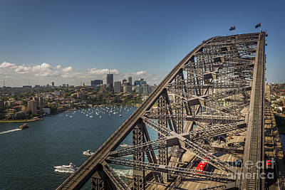 Sydney Harbour Bridge Art Print by Jola Martysz