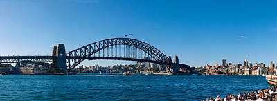 Sydney Vacation Photograph - Sydney Harbour Bridge With City by Panoramic Images