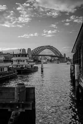 Sydney Harbour  Art Print by Dasmin Niriella