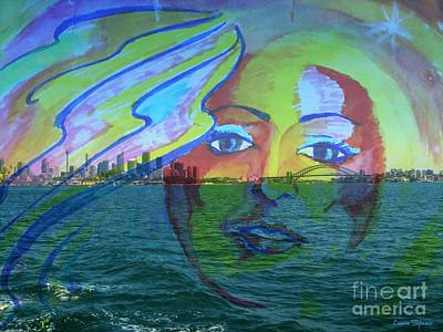 Drawing - Sydney Harbour Faerie by Leanne Seymour