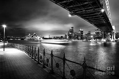 Skyscraper Photograph - Sydney Harbour Ferries by Az Jackson