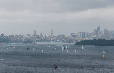 Photograph - Sydney Harbour From North Head 1 by Fran Woods