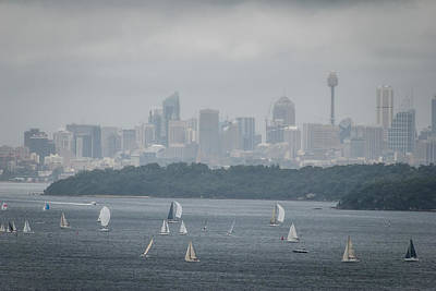 Photograph - Sydney Harbour From North Head 2 by Fran Woods