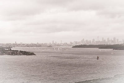 Photograph - Sydney Harbour From North Head 4 by Fran Woods