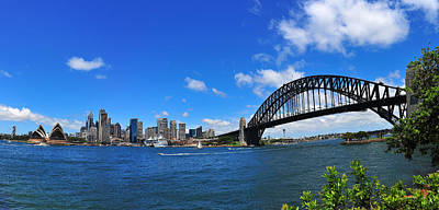 Photograph - Sydney Harbour by Harry Spitz