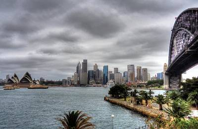 Photograph - Sydney Harbour View by Peter Mooyman