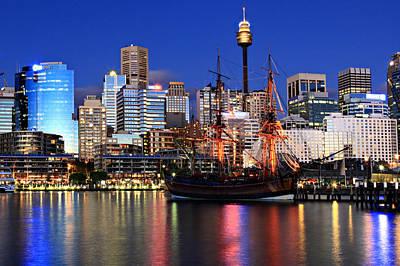 Sydney Skyline Photograph - Sydney by Joslin Hartley