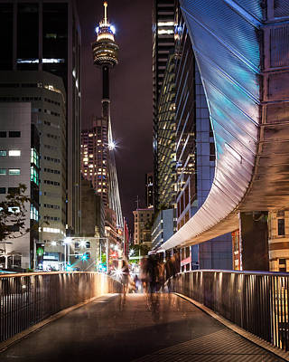 City Photograph - Sydney Nights by Bob Rapfogel