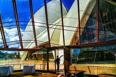 Photograph - Sydney Opera From Rest. by Rick Bragan