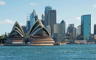 Photograph - Sydney Opera House And Waterfront by Marco Simoni