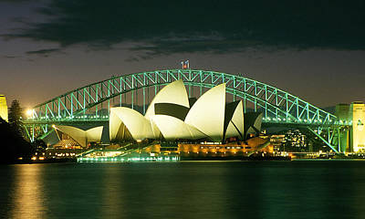 Winter Animals Rights Managed Images - Sydney Opera House Royalty-Free Image by Buddy Mays